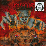 Kreator - London Apocalypticon - Live Clear/Black Splatter Vinyl Edition
