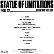 Smoke DZA & Benny The Butcher - Statue Of Limitations