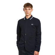 Fred Perry x Charlie Casely-Hayford - Long Sleeve Polo Shirt Jacket