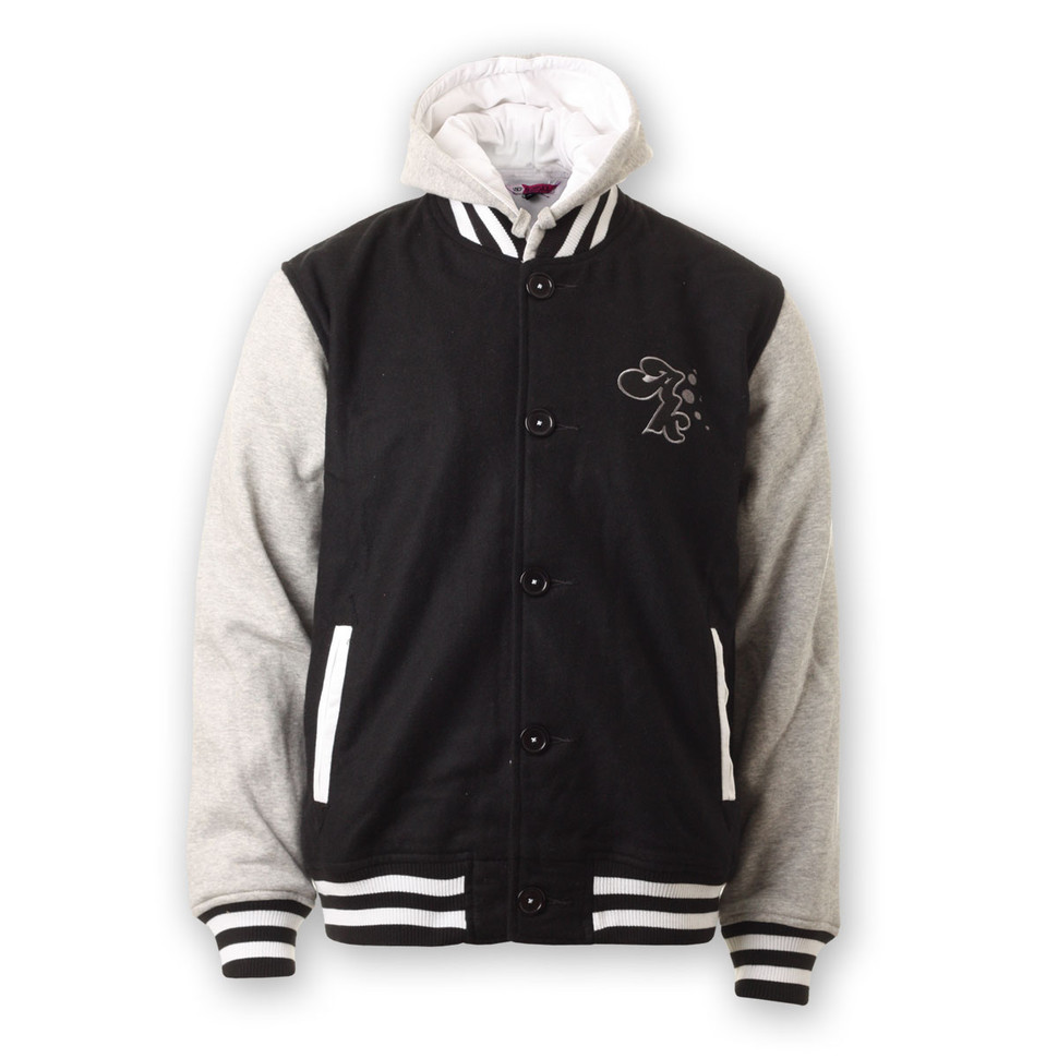 Men's Grey Varsity Jackets by Converse | Men's Fashion