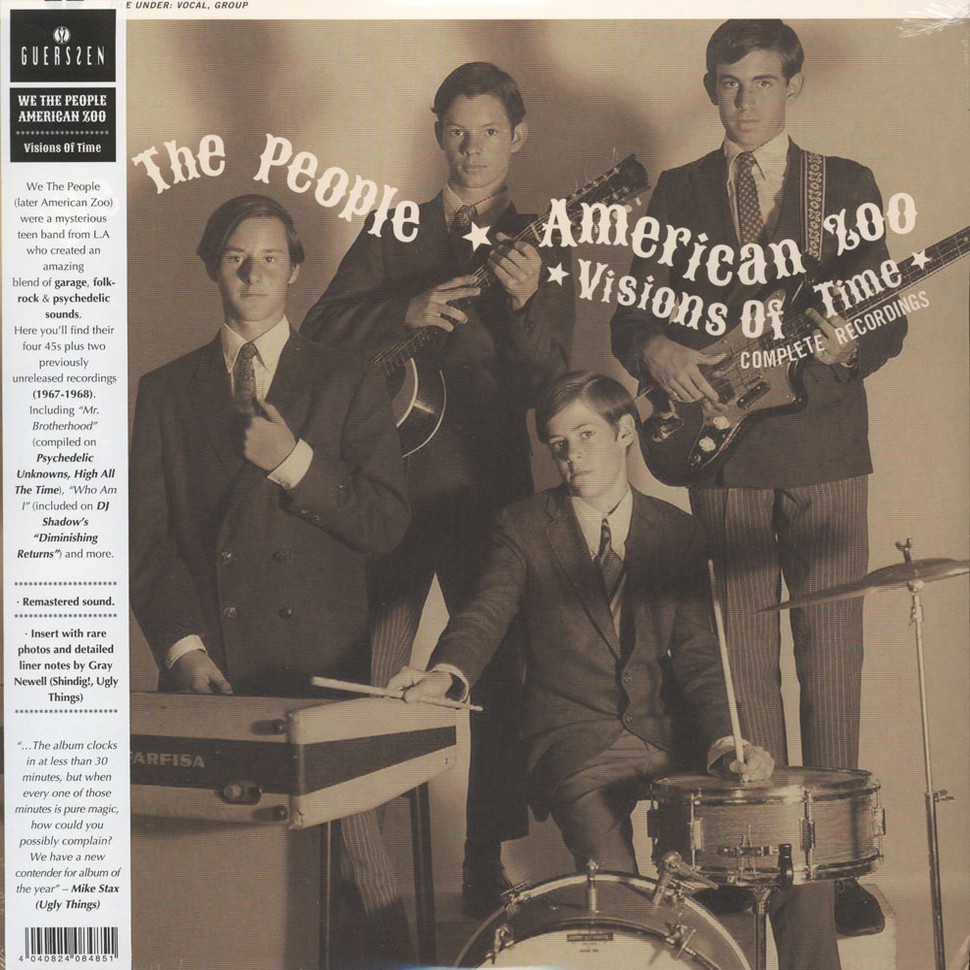 We The People / American Zoo - Visions Of Time: Complete Recordings