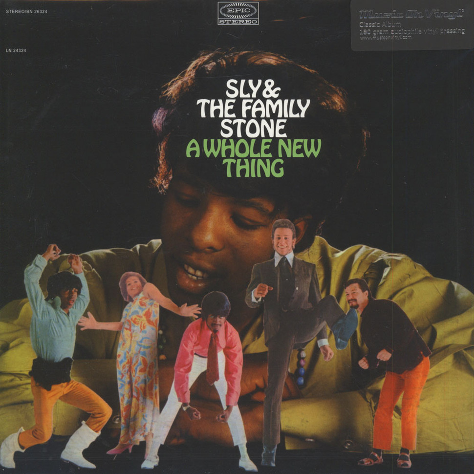 Sly & The Family Stone - A Whole New Thing