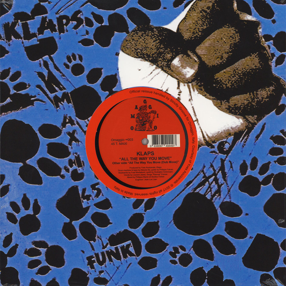 Klaps - All The Way You Move