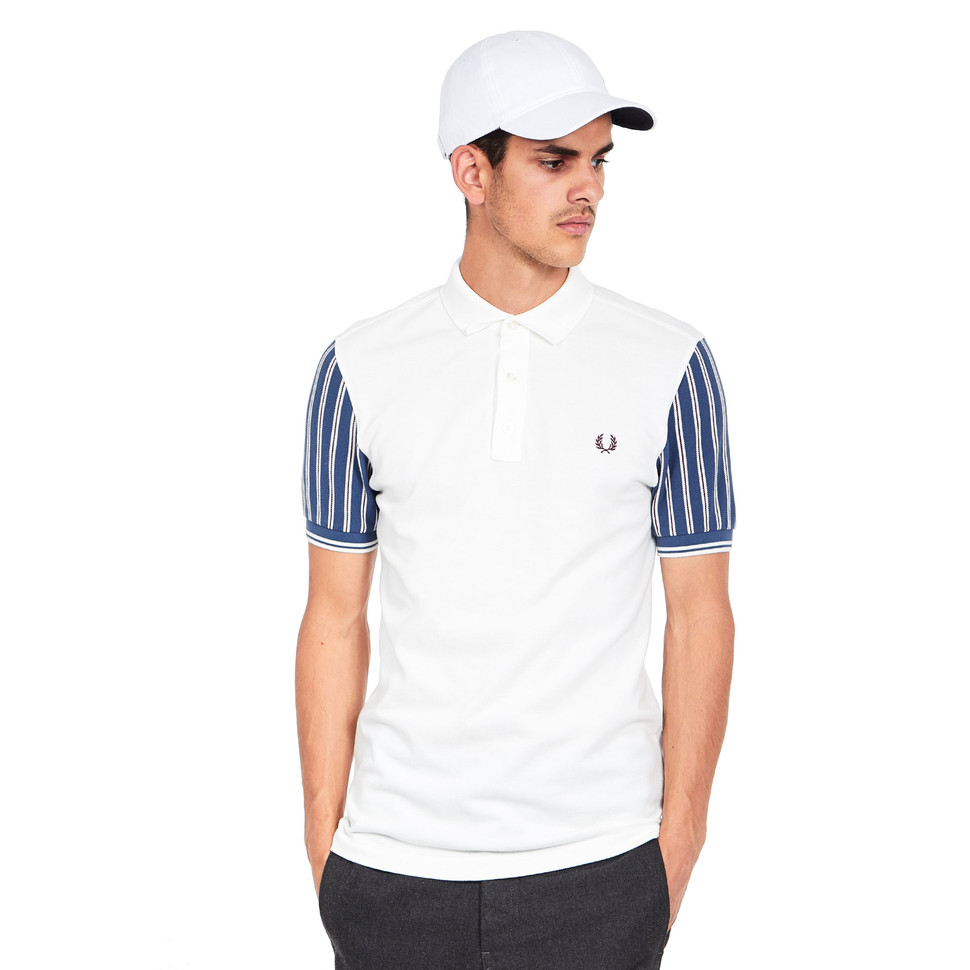 Fred Perry - Stripe Sleeve Pique Polo Shirt