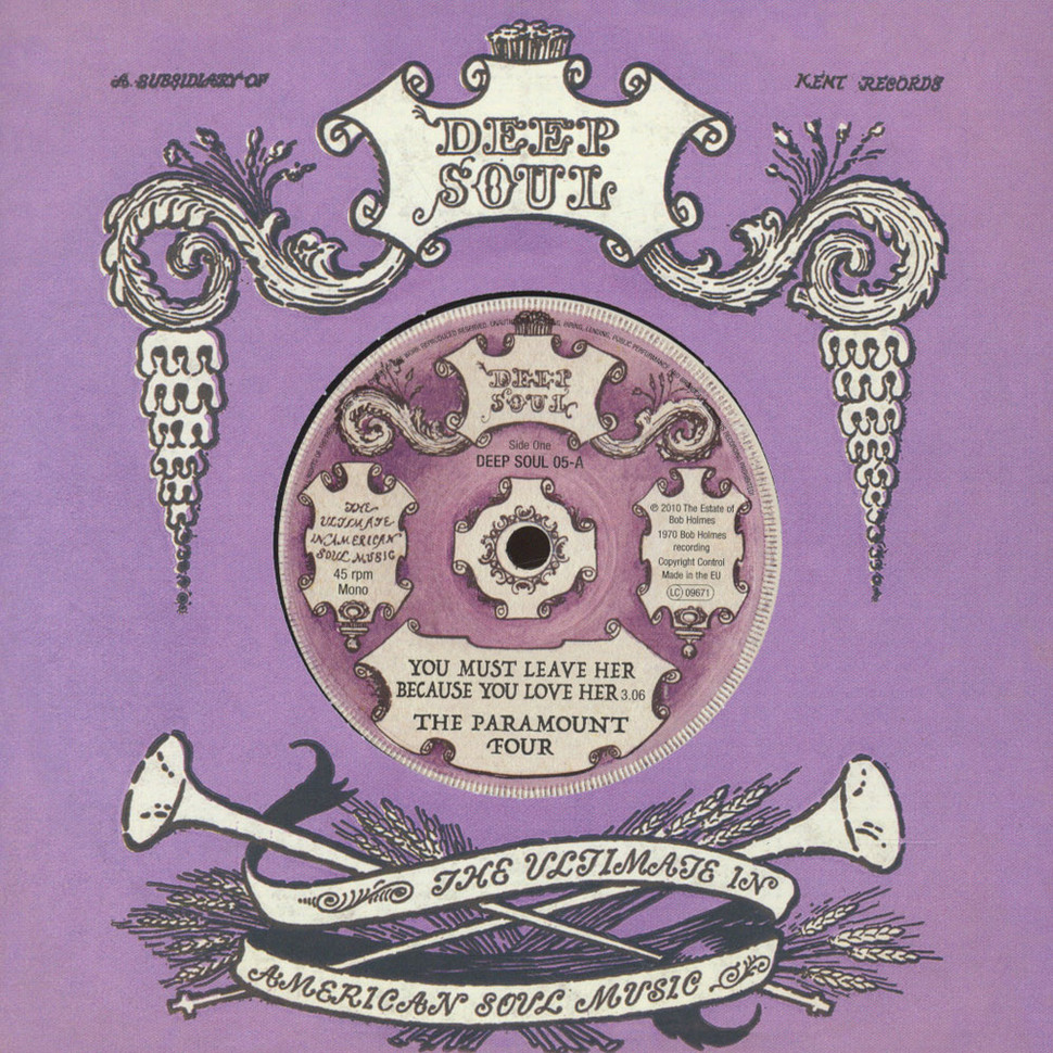 Paramount Four / Jeanette Jones - You Must Leave Her Because You Love Her / What Have You Got Gain By Losing Me