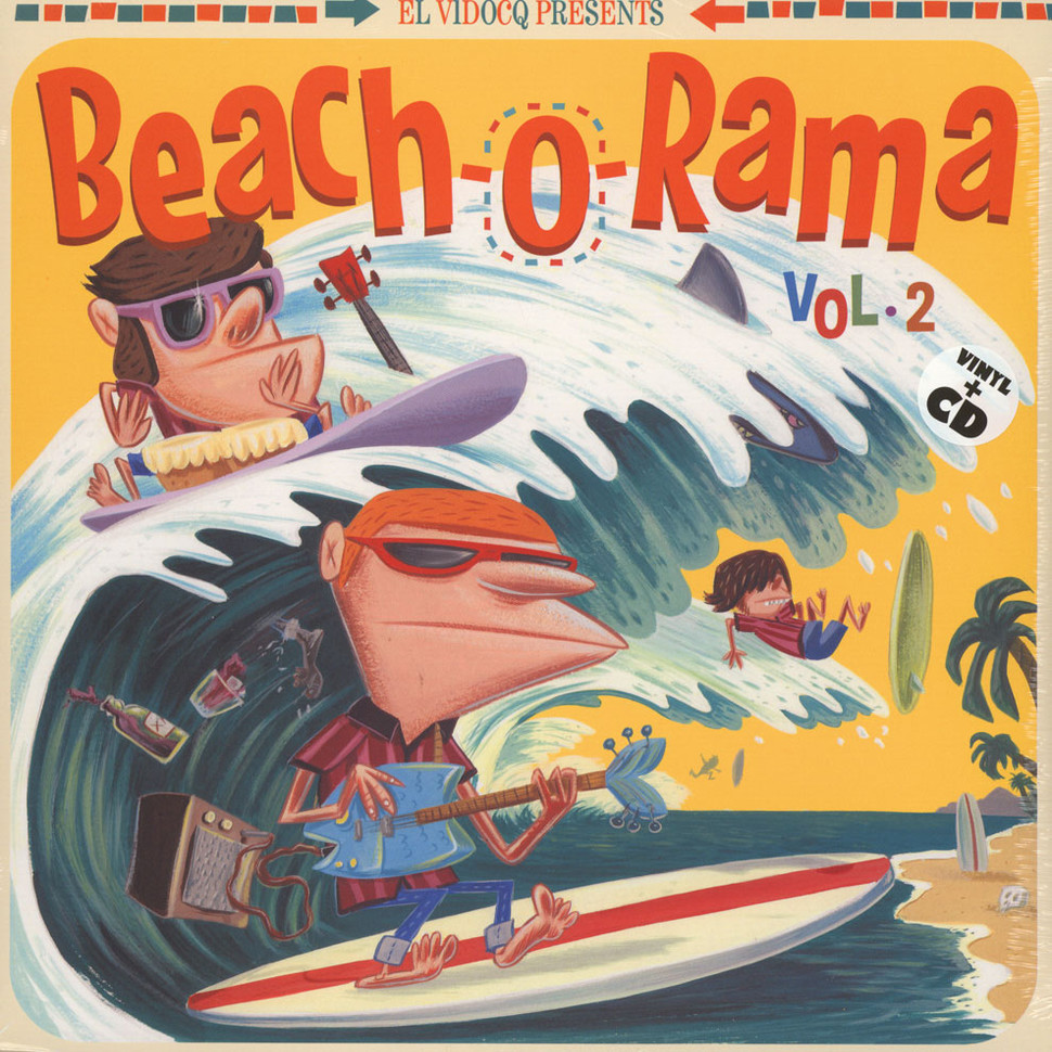 V.A. - Beach-O-Rama Volume 2