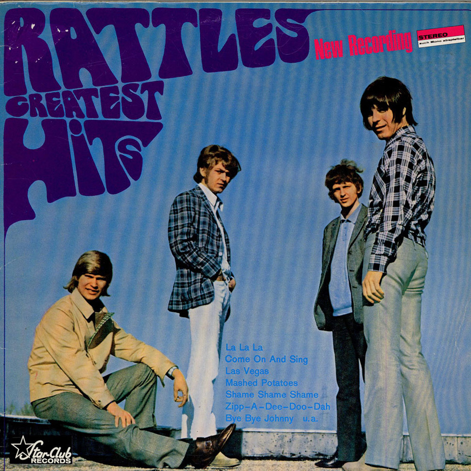 """Rattles, The - Rattles Greatest Hits """"New Recording"""""""