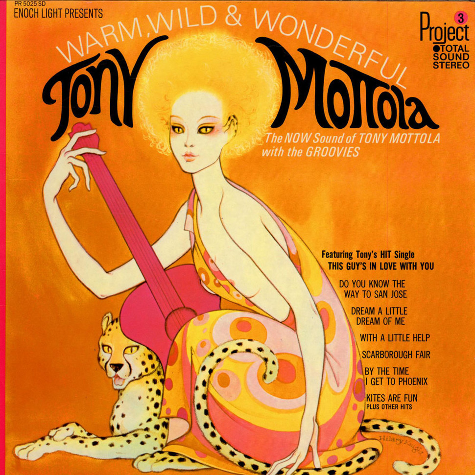 Tony Mottola - Warm, Wild And Wonderful
