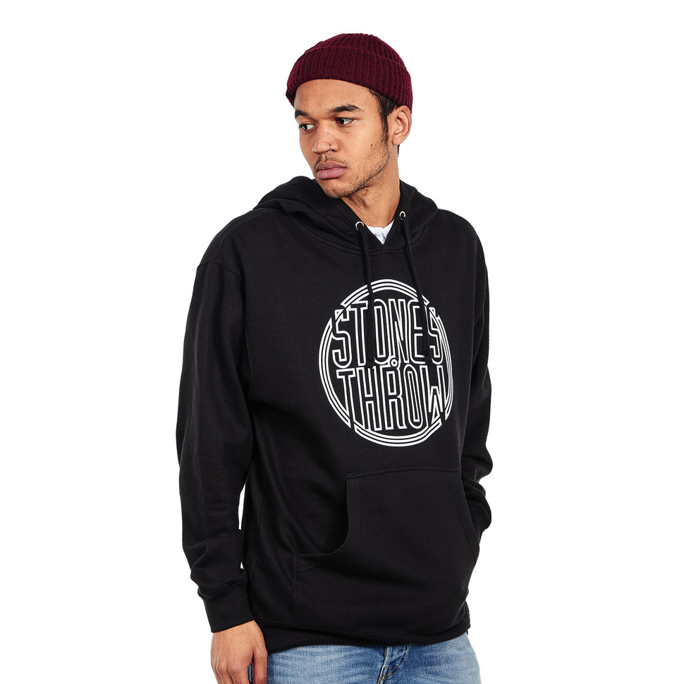 Stones Throw Outline Pullover Hoodie S