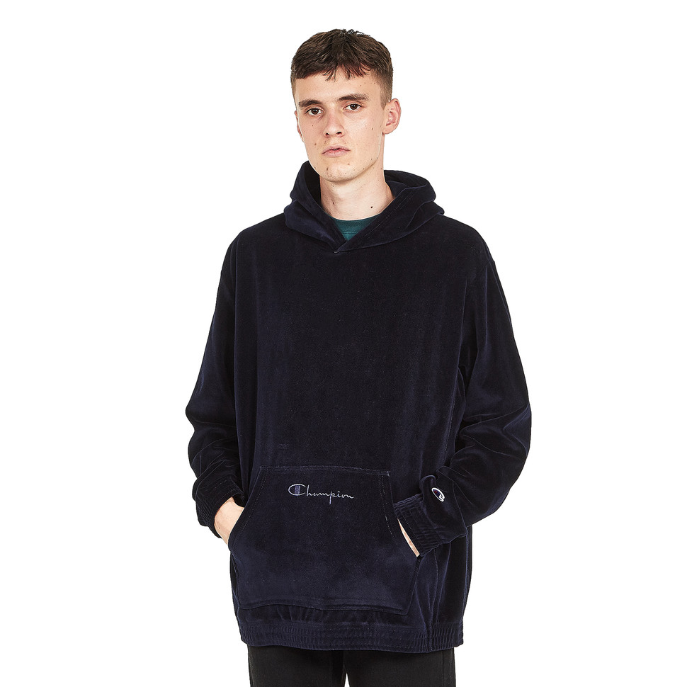 Champion - Hooded Sweatshirt New Navy Kapuzenpullover Hooded Sweater
