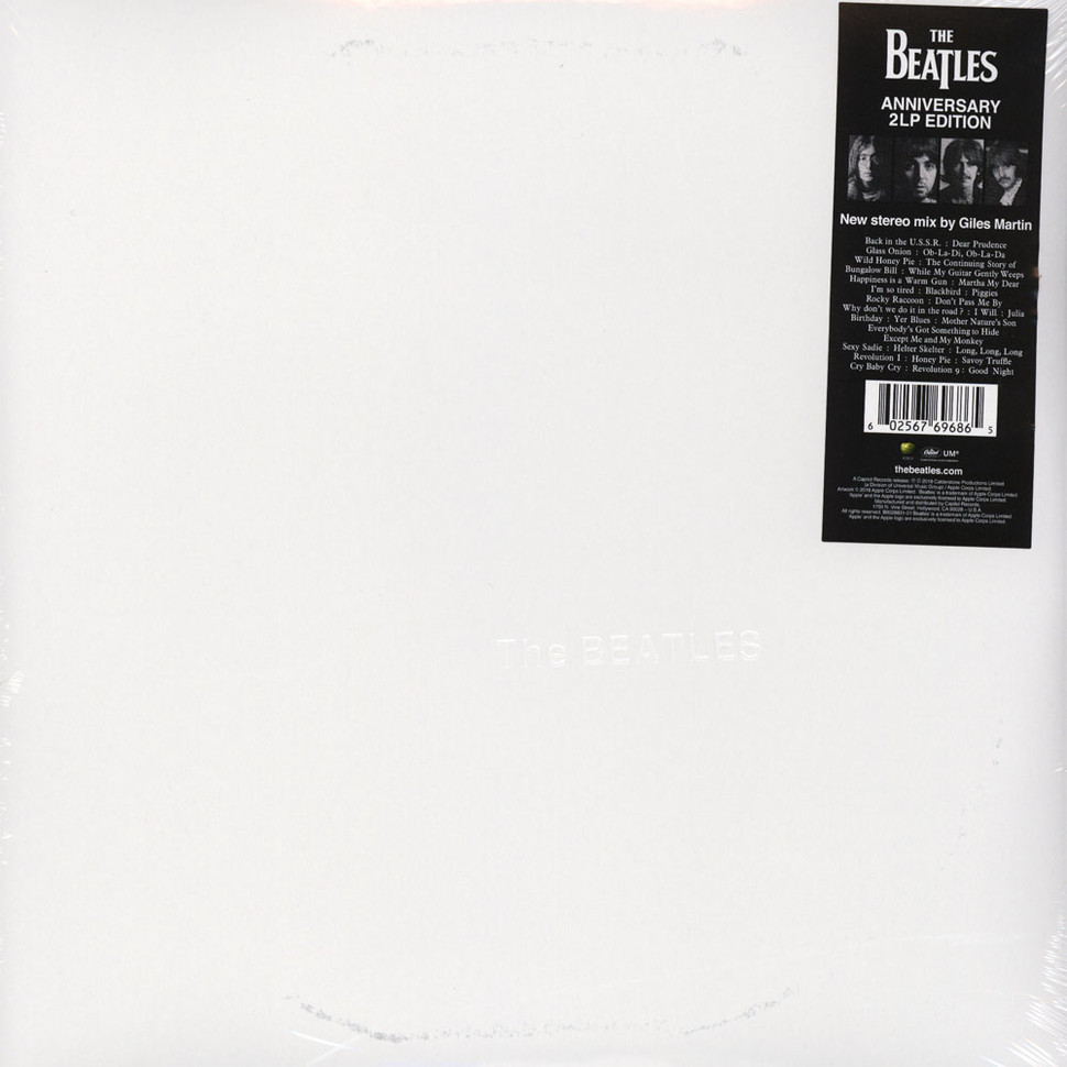 Beatles, The - The Beatles White Album 50th Anniversary Edition - Vinyl 2LP  - 2018 - US - Original