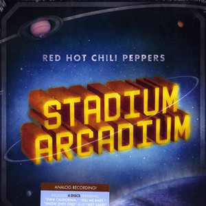 Red Hot Chili Peppers - Stadium Arcadium - analog recording