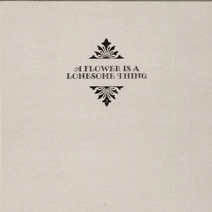 James Allsopp, Ross Stanley, Riaan Vosloo, Tim Giles - A Flower Is A Lonesome Thing