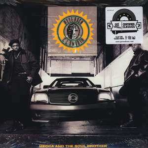 Pete Rock & CL Smooth - Mecca And The Soul Brother Clear Vinyl Edition