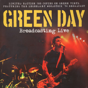 Green Day - Broadcasting Live Green Vinyl Edition