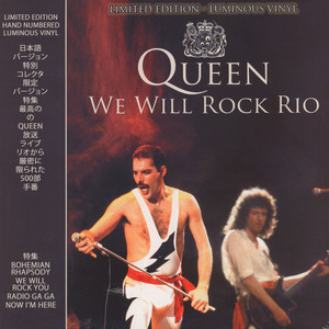Queen - We Will Rock Rio Luminous Vinyl Edition