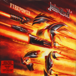 Judas Priest - Firepower Red Vinyl Edition