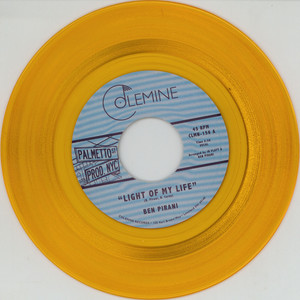 Ben Pirani - Light Of My Life / Dreamin's For Free Gold Vinyl Edition