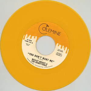 Wesley Bright & The Honeytones - Happiness / You Don't Want Me Yellow Vinyl Edition