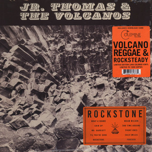 Jr. Thomas & The Volcanos - Rockstone Orange Vinyl Edition
