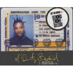 Ol Dirty Bastard - Brooklyn Zoo / Shimmy Shimmy Ya Picture Disc Edition